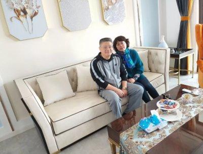 142平温馨婚房蜕变,装修已结束,安然居服务不会离开!